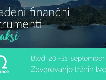 Izvedeni finančni instrumenti in druge finančne novosti
