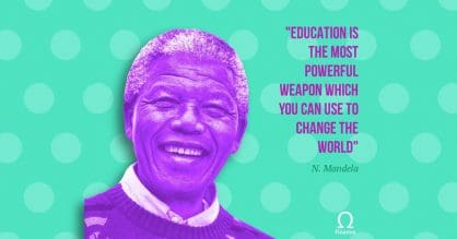 Education Is The Most Powerful Weapon
